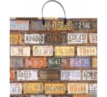 Пакет Авто номера, пластиковая ручка, 40*40 см, АртПласт