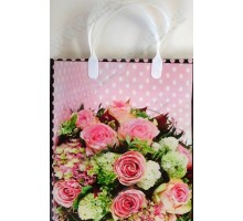 Пакет Гортензии и розы S 86/С, мягкий пластик, 230*260+100мм, MagicPack