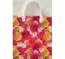 Пакет Весенний цвет S 95/С, мягкий пластик, 230*260+100мм, MagicPack