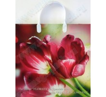 Пакет Весенние тюльпаны М 97/С, мягкий пластик, 300*300мм, MagicPack