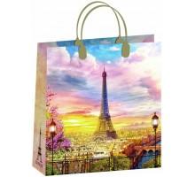 Пакет Весна в Париже М 169/С, мягкий пластик, 300*300мм, MagicPack