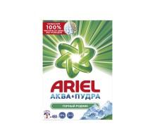 Стиральный порошок Ariel Горный родник, для белого белья, автомат, 450 грамм