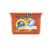 Капсулы для стирки Tide Все-в-1 Альпийская Свежесть, для белого белья, 18 штук