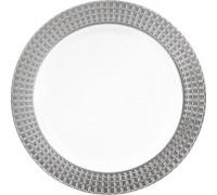 Тарелка пластиковая одноразовая, 190мм, PLMA Винтаж Кубики