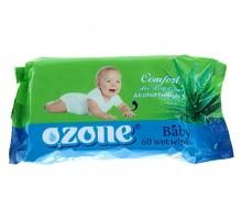 Влажные салфетки Ozon Алоэ, детские, 72 шт/уп