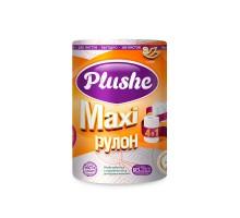 Бумажное полотенце Plushe Maxi, 2-cлойное, цветное