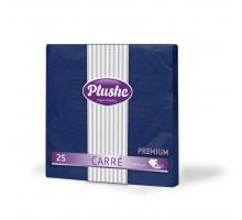 Салфетка столовая Plushe Intensive, 33х33см, 2 слоя, 25 листов, синяя