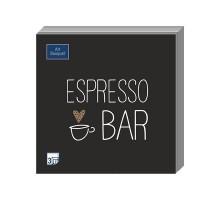 """Салфетка банкетная """"Espresso bar"""", 33х33см, 3 слоя, Art Bouquet"""