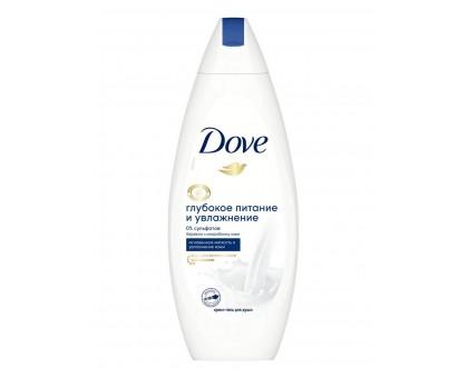 Крем-гель для душа Dove Глубокое питание и увлажнение, 250 мл