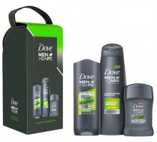 Подарочный набор Dove Men+Care Энергия свежести (шампунь, гель для душа, антиперспирант)