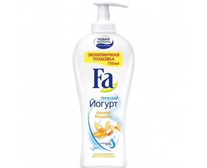 Гель для душа FA Греческий йогурт, с ароматом миндаля, 750 мл
