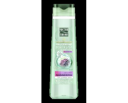 Мицеллярный шампунь для длинных волос Чистая Линия, Шелоквица, 400 мл