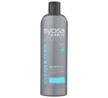 Шампунь SYOSS Men для мужчин CLEAN & COOL, 500 мл