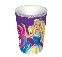 Стакан бумажный, детский, 250мл, 10шт/уп, Barbie, 0504.099