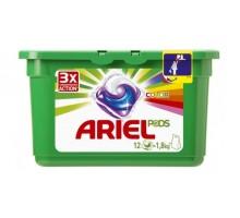Капсулы для стирки Ariel Pods Sensitive Всё-в-1, 12шт, для чувствительной кожи