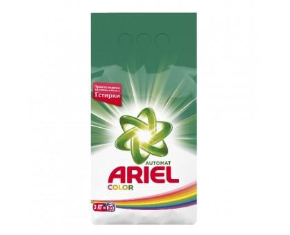 Стиральный порошок Ariel Color, для цветного белья, автомат, 3 кг