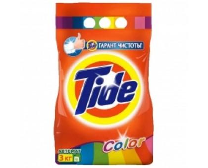 Порошок стиральный Tide Автомат Color, для цветного белья, 3 кг