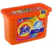 Капсулы для стирки Tide Все-в-1 Color, 18 штук
