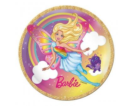Тарелка бумажная, детская, 230мм, 10 шт/уп, Barbie, 0506.083