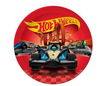 Тарелка бумажная, детская, 230мм, 10 шт/уп, Hot Wheels, 0506.095