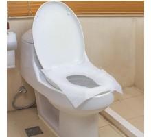 Одноразовые бумажные покрытия на сиденье на унитаза, 100 шт/уп