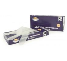 Перчатки одноразовые Aviora Эластомер, 50 пар, размер XL, бесцветные