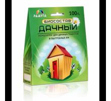 Биосостав Дачный для дачных туалетов и выгребных ям, 100 грамм