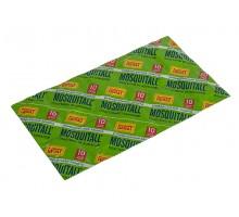 Пластины от комаров MOSQUITALL, универсальная защита, 10 шт/уп